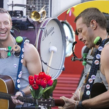 Coldplay Arrive to Film New Music Video in Sydney