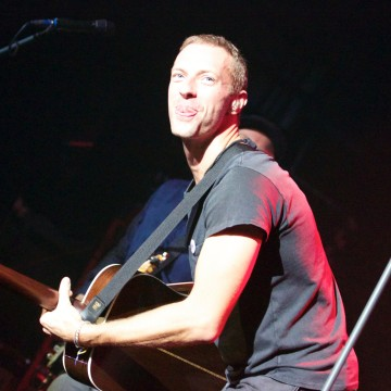 Coldplay perform live at the Casino de Paris, France on may 28, 2014.