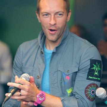 "Le groupe Coldplay reçoit le prix ""Rock of Fame"" de la radio ""102.1 The Edge"". INF."