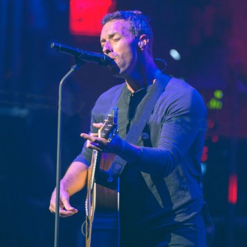Coldplay Peforms at The Beacon Theatre