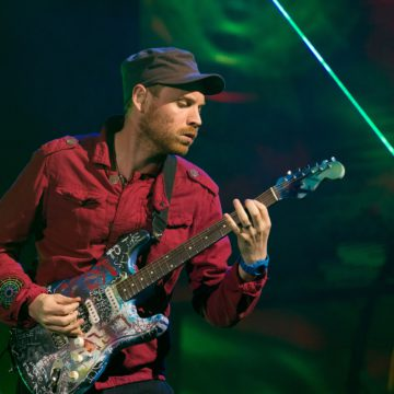 Jonny Buckland of Coldplay