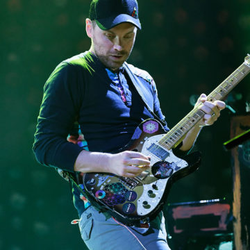 Coldplay live at The Palace of Auburn Hills on 8-3-2016. Photo credit: Ken Settle