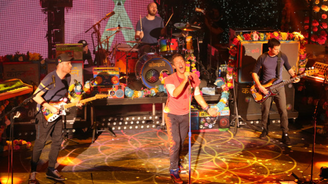 Private KROQ Show with Coldplay at the Belasco