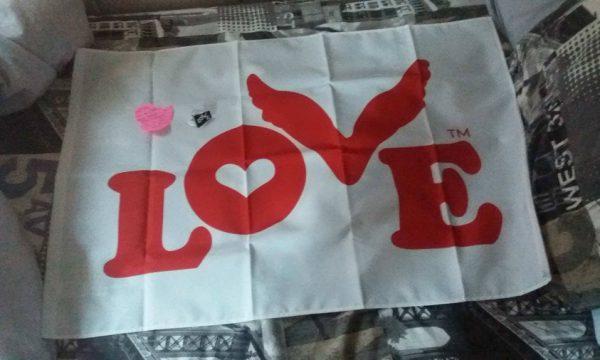 Love flag